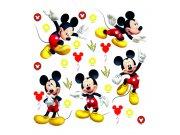 Samolepicí dekorace Mickey Mouse DKS-3802, 30x30 cm Dětské samolepky na zeď