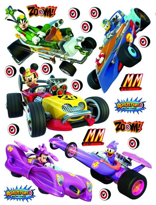 Samolepicí dekorace Mickey a formule DK-2308, 85x65 cm - Dětské samolepky na zeď