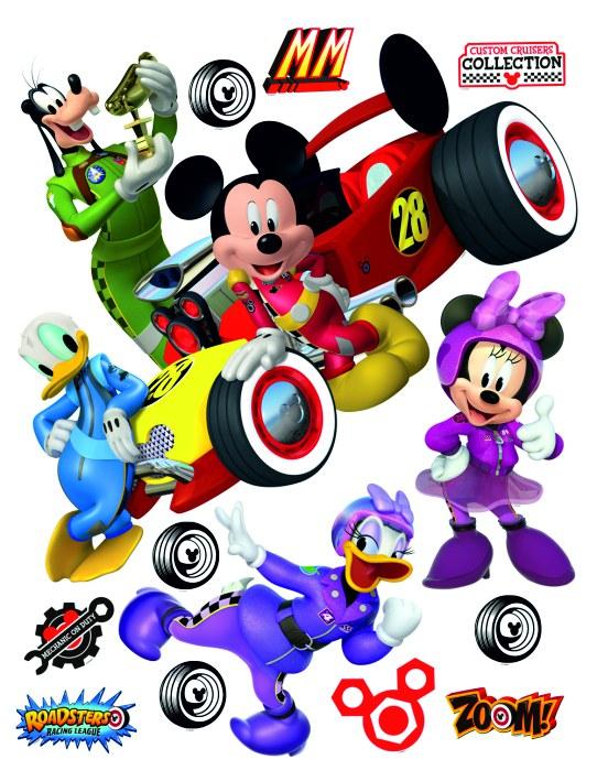 Samolepicí dekorace Mickey Mouse DK-2309, 85x65 cm - Dětské samolepky na zeď