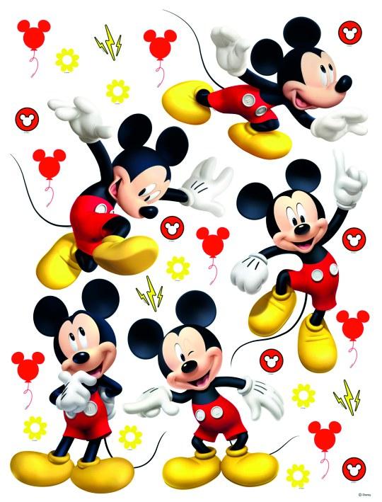 Samolepicí dekorace Mickey Mouse DK-2311, 85x65 cm - Dětské samolepky na zeď