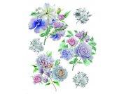 Samolepky na zeď Květiny F1064 Samolepící dekorace na zeď