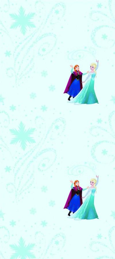 Dětská vliesová tapeta Ledové Království WPD9778 - Tapety Disney