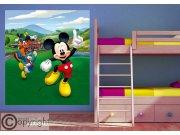 Fototapeta vliesová Mickey Mouse FTDNXL-5148 | 180x202 cm Fototapety pro děti