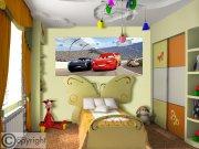 Vliesová fototapeta Disney Auta FTDNH-5376 | 202x90 cm Fototapety pro děti