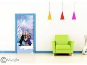 Vliesová fototapeta Frozen FTDNV-5481 | 90x202 cm Fototapety pro děti