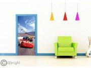 Vliesová fototapeta Cars FTDNV-5483 | 90x202 cm Fototapety pro děti