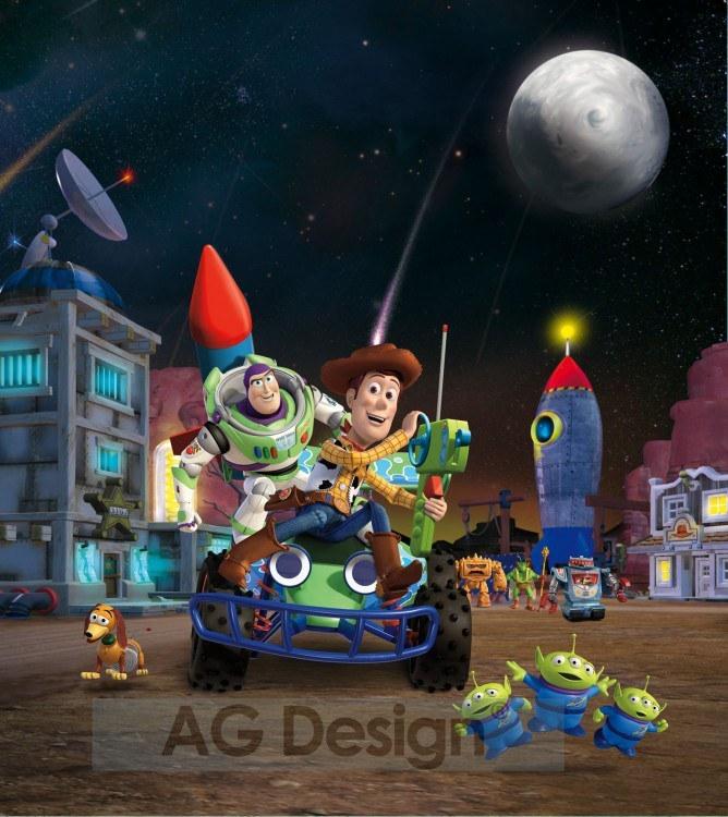 Fototapeta AG Toy Story FTDXL-1915   180x202 cm - Fototapety pro děti