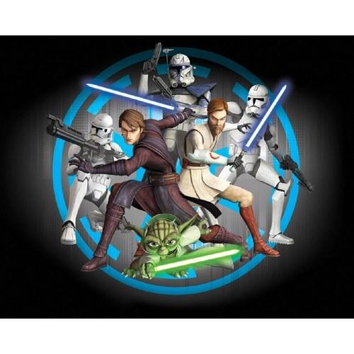 3D fototapeta Walltastic Star Wars 40908 | 305x244 cm - Fototapety pro děti