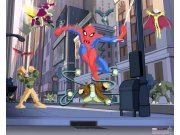 3D fototapeta Walltastic Spiderman 40335 | 305x244 cm Fototapety pro děti