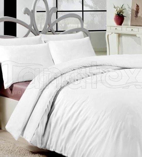 Povlečení bílé bavlna de luxe 200x240 - Výprodej