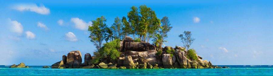 Samolepící bordura Ostrov v moři WB8203 - Samolepící bordury