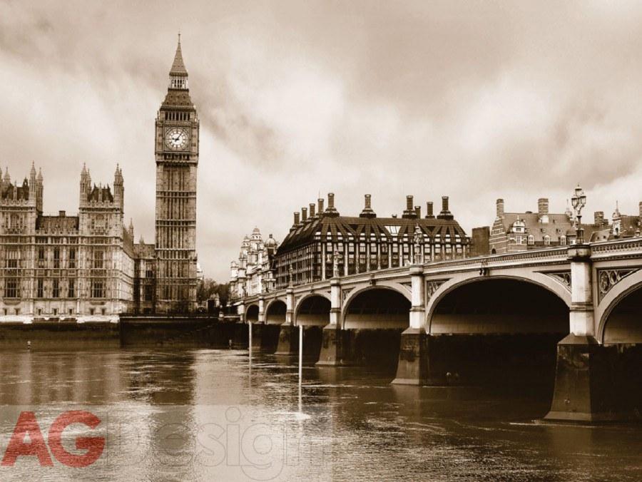 Fototapeta AG Londýn FTS-0480 | 360x254 cm - Fototapety na zeď