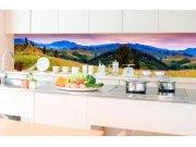 Samolepicí fototapeta do kuchyně - Příroda s červánky KI-350-082 | 350x60 cm Samolepící fototapety - Na kuchyňskou linku