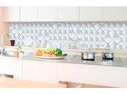 Samolepicí fototapeta do kuchyně - 3D umělecká zeď KI-350-095 | 350x60 cm Samolepící fototapety - Na kuchyňskou linku