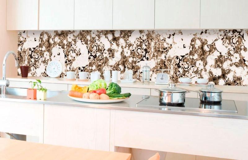 Samolepicí fototapeta do kuchyně - Hrubý kámen KI-350-104 | 350x60 cm - Na kuchyňskou linku