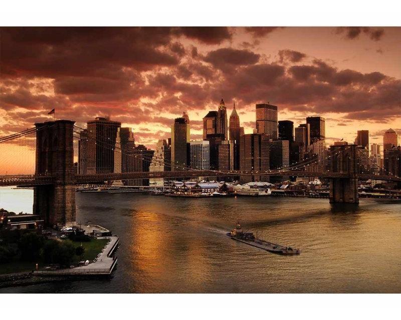 Vliesové fototapety na zeď New York | MS-5-0002 | 375x250 cm - Fototapety vliesové