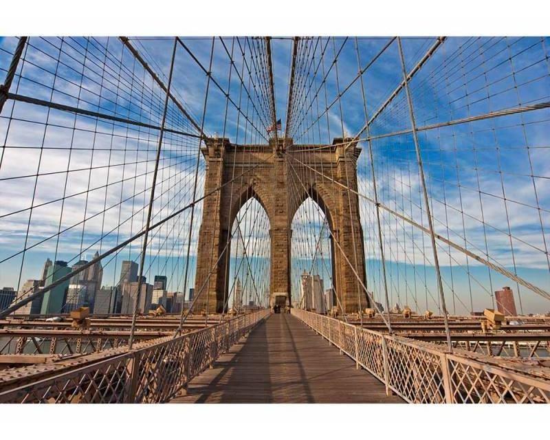 Vliesové fototapety na zeď Brooklynský most   MS-5-0005   375x250 cm - Fototapety vliesové