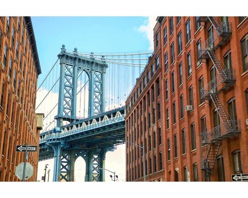 Vliesové fototapety na zeď Most v Manhattanu | MS-5-0012 | 375x250 cm - Fototapety vliesové