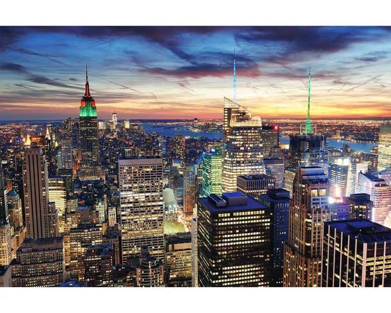 Vliesové fototapety na zeď Mrakodrapy v New Yorku | MS-5-0014 | 375x250 cm - Fototapety vliesové