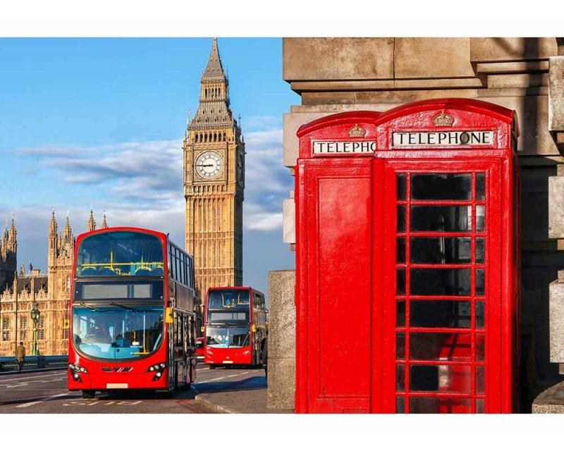 Vliesové fototapety na zeď Big Ben | MS-5-0018 | 375x250 cm - Fototapety vliesové