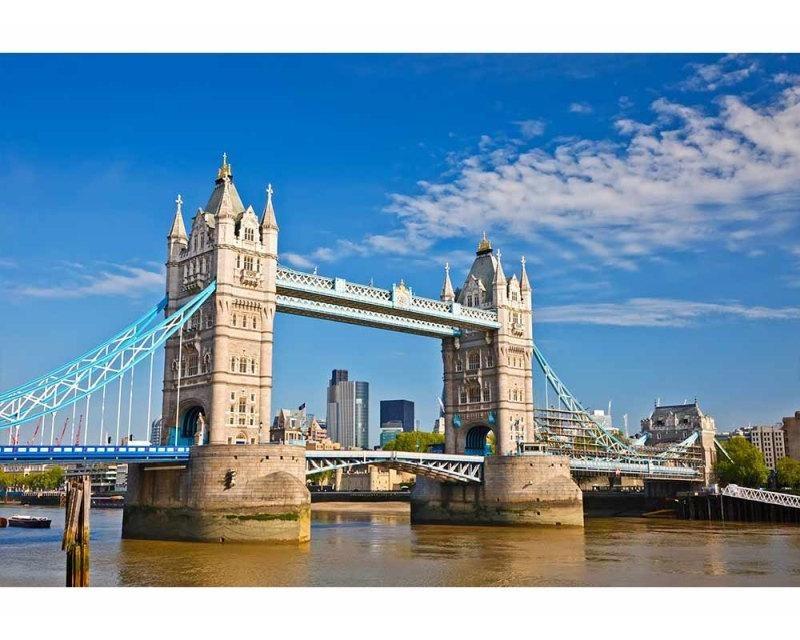 Vliesové fototapety na zeď Tower Bridge | MS-5-0019 | 375x250 cm - Fototapety vliesové