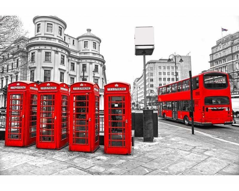 Vliesové fototapety na zeď Londýn | MS-5-0020 | 375x250 cm - Fototapety vliesové