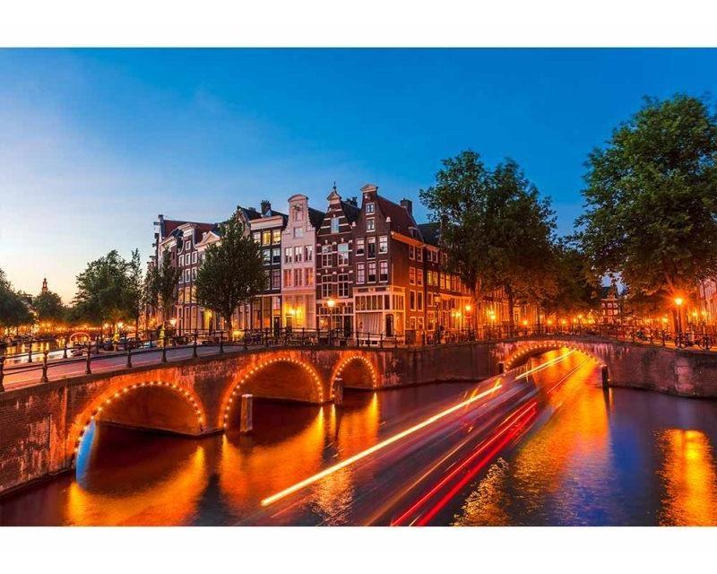 Vliesové fototapety na zeď Amsterdam | MS-5-0023 | 375x250 cm - Fototapety vliesové