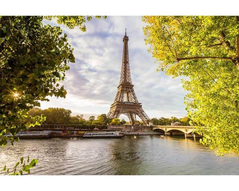 Vliesové fototapety na zeď Seina v Paříži | MS-5-0028 | 375x250 cm - Fototapety vliesové
