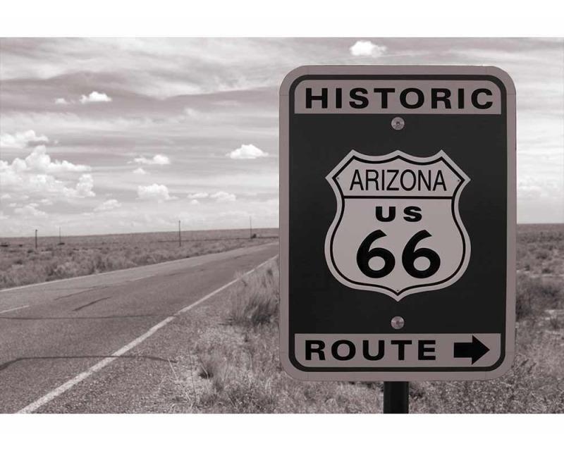 Vliesové fototapety na zeď Silnice 66 | MS-5-0033 | 375x250 cm - Fototapety vliesové