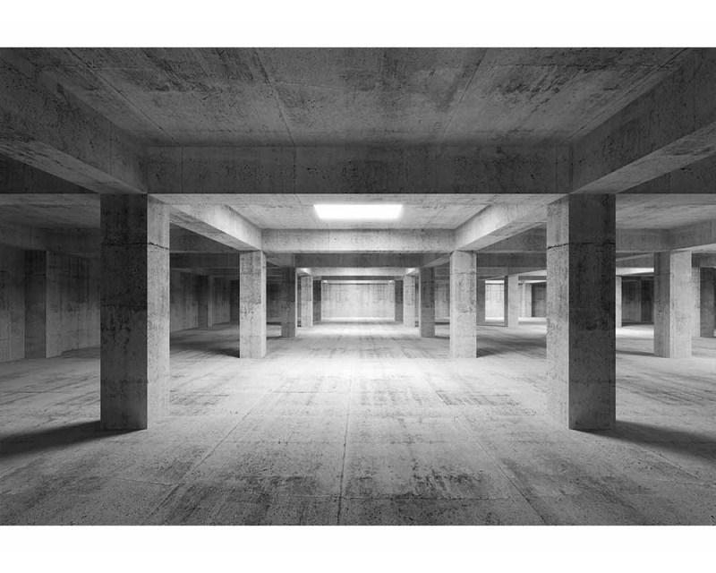 Vliesové fototapety na zeď 3D průmyslová hala | MS-5-0035 | 375x250 cm - Fototapety vliesové