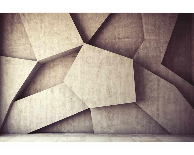 Vliesové fototapety na zeď 3D betonové pozadí | MS-5-0037 | 375x250 cm - Fototapety vliesové