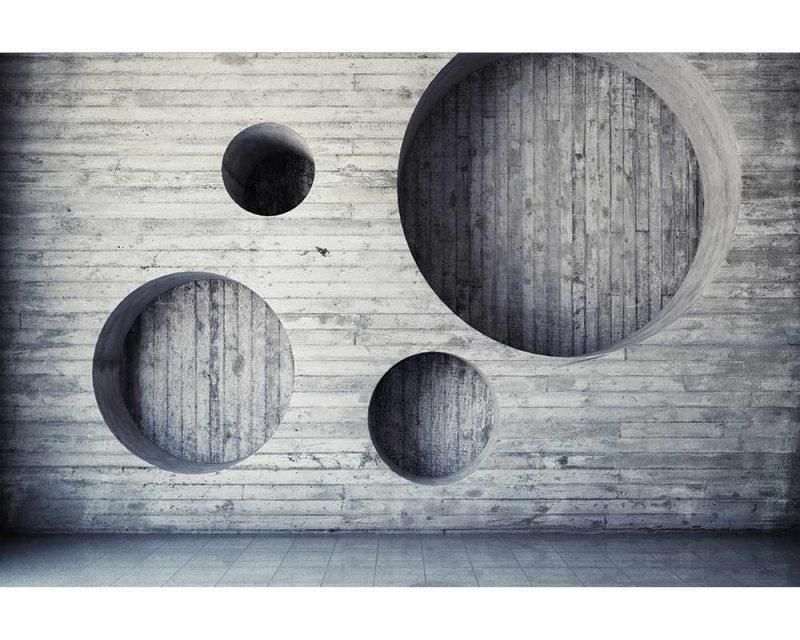 Vliesové fototapety na zeď 3D Geometrické pozadí | MS-5-0038 | 375x250 cm - Fototapety vliesové