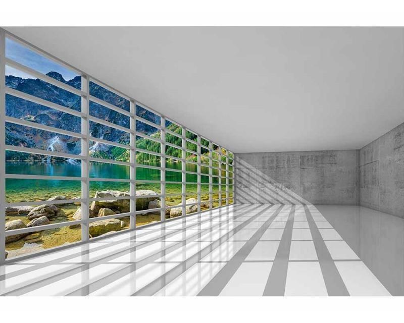 Vliesové fototapety na zeď Interiér s výhledem | MS-5-0039 | 375x250 cm - Fototapety vliesové