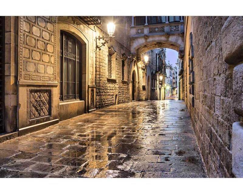 Vliesové fototapety na zeď Starověká ulice | MS-5-0048 | 375x250 cm - Fototapety vliesové