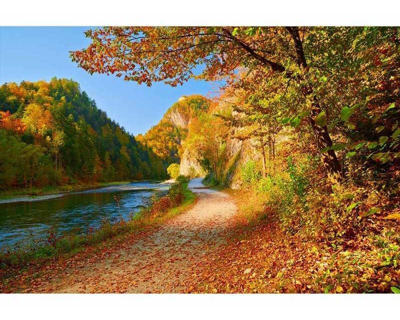 Vliesové fototapety na zeď Řeka Dunajec | MS-5-0069 | 375x250 cm - Fototapety vliesové