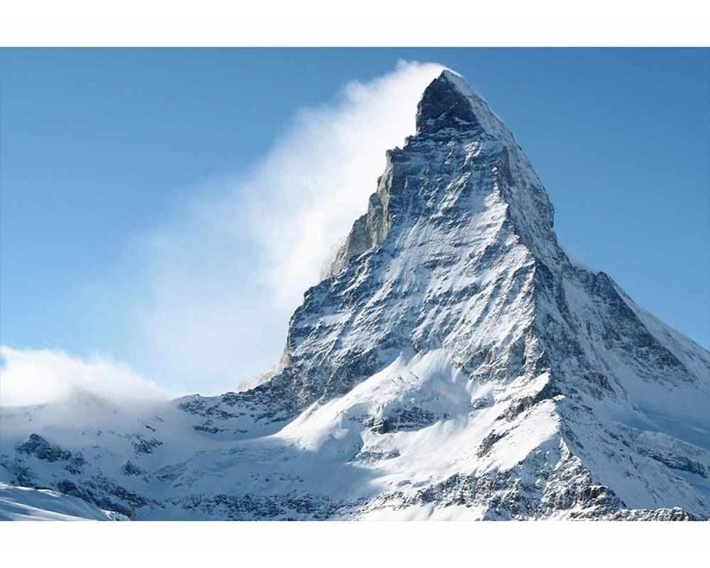 Vliesové fototapety na zeď Matterhorn | MS-5-0073 | 375x250 cm - Fototapety vliesové