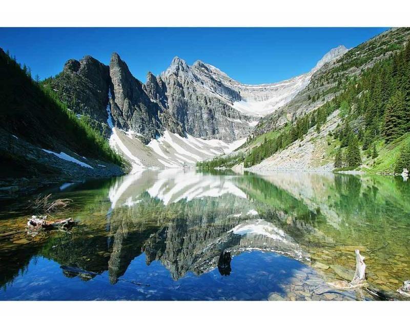 Vliesové fototapety na zeď Jezero Agnes | MS-5-0074 | 375x250 cm - Fototapety vliesové