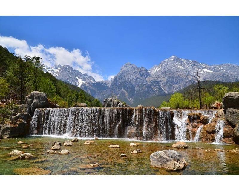 Vliesové fototapety na zeď Alpy | MS-5-0075 | 375x250 cm - Fototapety vliesové