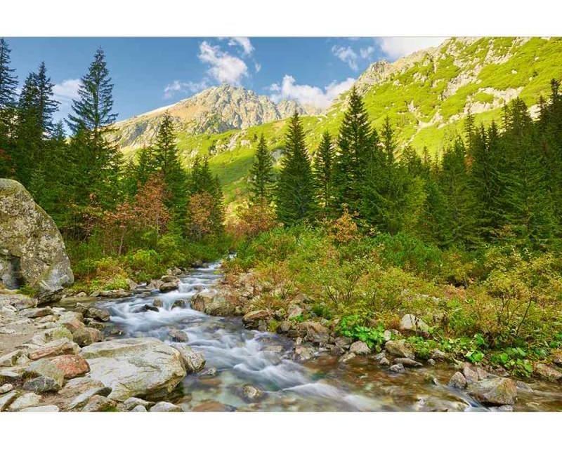 Vliesové fototapety na zeď Údolí | MS-5-0077 | 375x250 cm - Fototapety vliesové