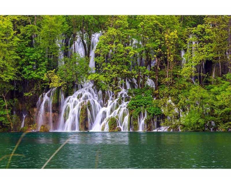 Vliesové fototapety na zeď Plitvická Jezera | MS-5-0078 | 375x250 cm - Fototapety vliesové