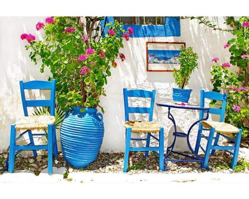 Vliesové fototapety na zeď Tradiční Řecko | MS-5-0087 | 375x250 cm - Fototapety vliesové