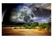 Vliesové fototapety na zeď Měsíc | MS-5-0185 | 375x250 cm Fototapety vliesové