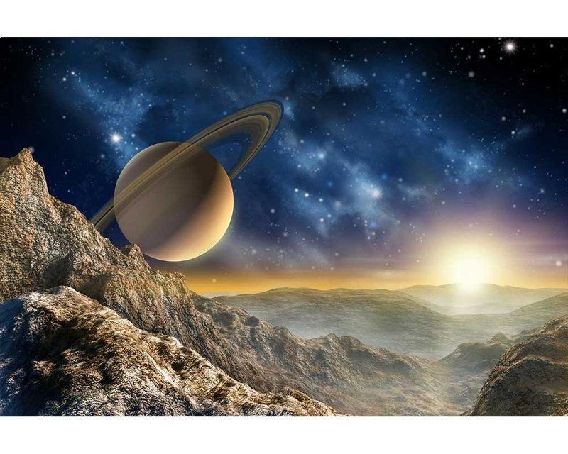 Vliesové fototapety na zeď Vesmír | MS-5-0187 | 375x250 cm - Fototapety vliesové