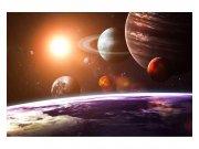 Vliesové fototapety na zeď Sluneční soustava | MS-5-0188 | 375x250 cm Fototapety vliesové