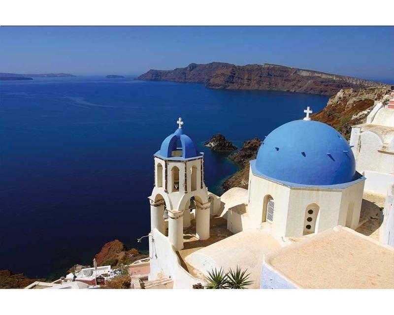 Vliesové fototapety na zeď Santorini | MS-5-0199 | 375x250 cm - Fototapety vliesové
