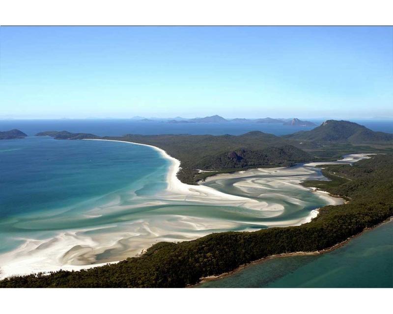 Vliesové fototapety na zeď Pohled na pláž z výšky | MS-5-0202 | 375x250 cm - Fototapety vliesové