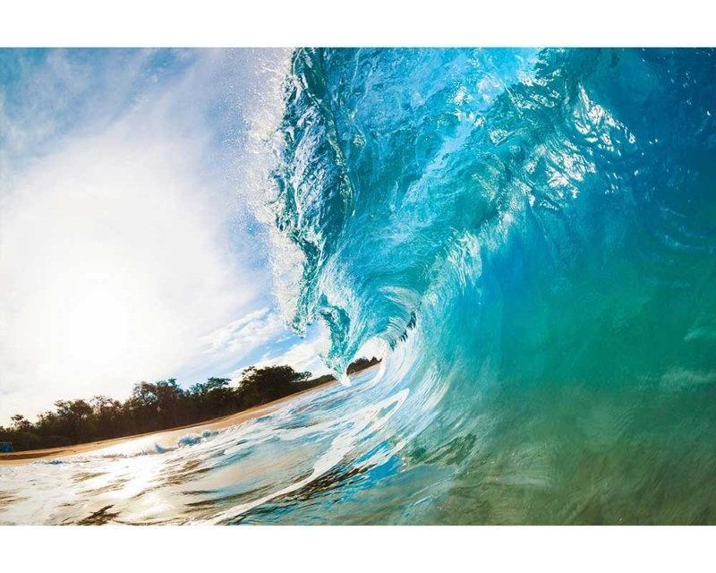 Vliesové fototapety na zeď Vlny oceánu | MS-5-0213 | 375x250 cm - Fototapety vliesové