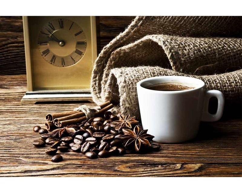 Vliesové fototapety na zeď Šálek kávy | MS-5-0245 | 375x250 cm - Fototapety vliesové