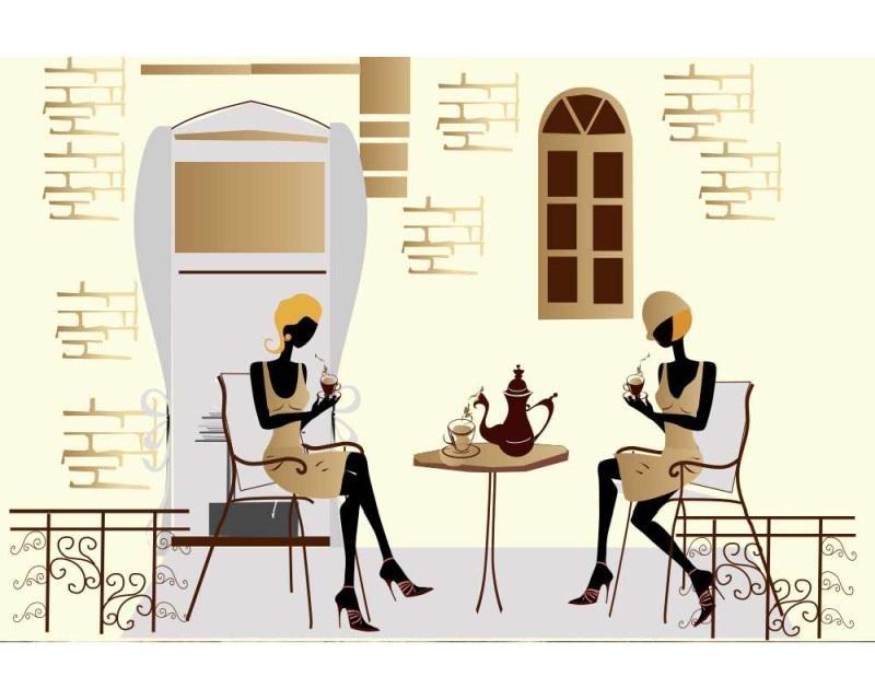 Vliesové fototapety na zeď Pouliční kavárna | MS-5-0246 | 375x250 cm - Fototapety vliesové
