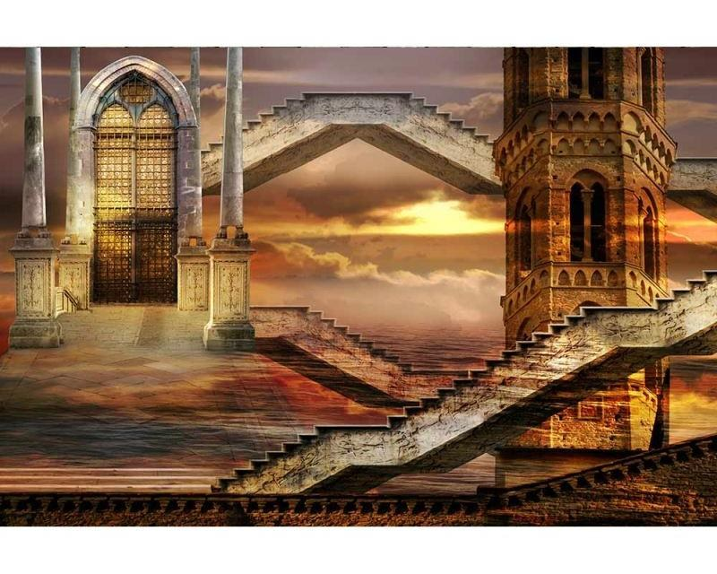 Vliesové fototapety na zeď Éterická věž | MS-5-0265 | 375x250 cm - Fototapety vliesové